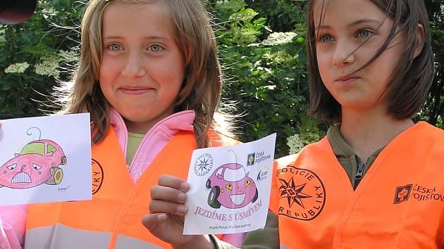 Děti z miličínské školy.
