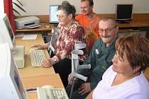 Počítačový kurz Svazu tělesně postižených Benešov