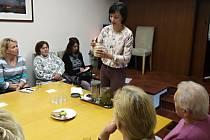 Z přednášky Cesta ke zdraví v sále Spolkového domu v Trhovém Štěpánově.