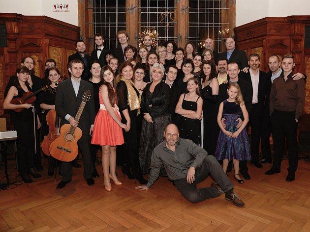 Vokální skupina Marika Singers.