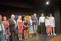Na Divadelním festivalu Ludvíka Němce vystoupil i Divadelní spolek Zornice Maršovice s hrou Ztracená v čase.