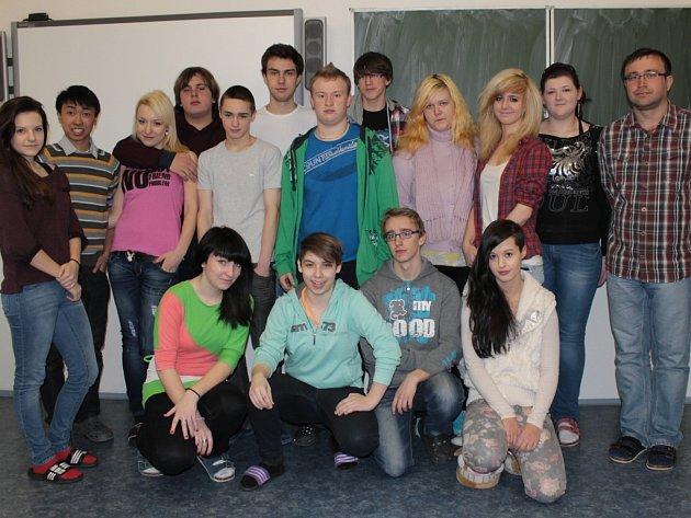 Studenti I. A SŠCR Benešov