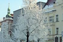 Mrazy na Benešovsku mohou z pátku na sobotu dosáhnout mínus 20 °C.