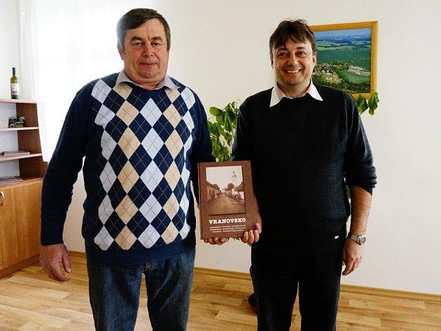 Starosta Josef Vašák (vpravo) a místostarosta Zdeněk Vožický.