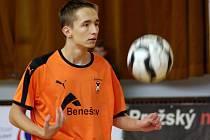 V dresu benešovského Šacungu se na Poslední smeči představil i slovenský juniorský reprezentant Matěj Prachár.