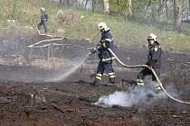 Hasiči na Benešovsku letos likvidovali tři lesní požáry. Ilustrační foto.