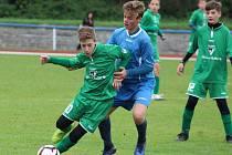 Česká fotbalová divize starších žáků U14: FC Sellier & Bellot Vlašim - FK Čáslav 0:4 (0:2).