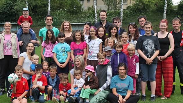Mladí lidé z Itálie,Turecka, Francie, Ruska a Jižní Koreje objevovali Českou Sibiř a Česko.