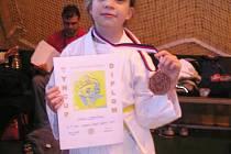 Andrea Maršíčková získala bronzovou medaili v Mezinárodní velké ceně Týn cup 2009