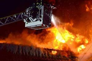 Požár - ilustrační foto