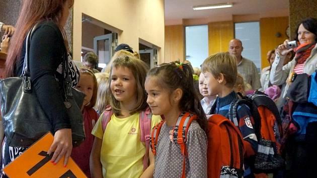 Zahájení školního roku ve Vlašimi.