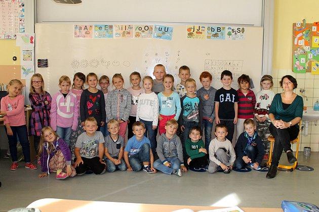 ZŠ Divišov 1.třida třídní učitelka Adriana Káninská