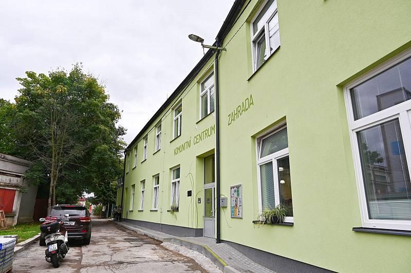 Komunitní centrum Zahrada ve Vlašimi.