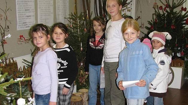Vánoční akce v Domě dětí a mládeže Benešov.