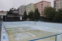 Bazén v benešovské Dukelské ulici.