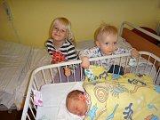 Andrea Venderová se narodila 13. srpna v 0.39. Při narození vážila  3 400 g a měřila 50 cm. Rodiče Jakub a Andrea Venderovi z Postupic Andreu již seznámili s jejími sourozenci Adélkou (4) a Adámkem (1).
