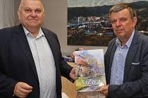 Hejtman Miloš Petera přislíbil Sázavě rekonstrukci příjezdu od dálnice.