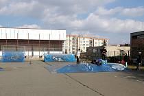 Skatepark u benešovské zemědělské školy zanikl v roce 2016.