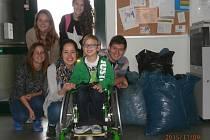 Míra si dojel pro víčka ke studentům OA Neveklov.