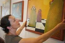Výstavu plyšových medvědů doplní výstava obrazů malířky Kateřiny Ašenbrennerové.