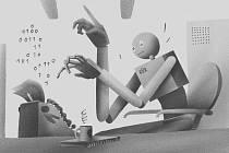 AI: Když robot píše hru.