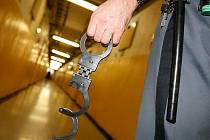 Muži, který kradl ve třech benešovských obchodech, hrozí až dva roky za mřížemi. Ilustrační foto.