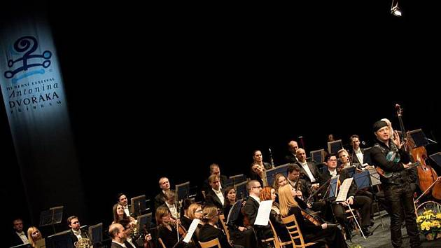Ze zahájení 49. ročníku Hudebního festivalu Antonína Dvořáka v Příbrami.