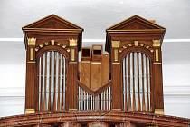 Varhany kostel sv. Klimenta v Lštění