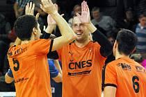 Trojice Šacungu ČNES Benešov obhájila zlato na mezinárodním turnaji Poslední smeč.