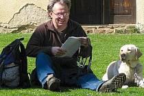 Odpočívající turista ilustrační foto