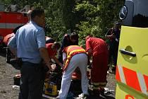 Středočeští záchranáři mají každé prázdniny plné ruce práce.