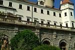 Zádušní mše na výročí sarajevského atentátu v zámecké kapli sv. Huberta na Konopišti.