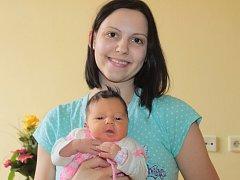 Kristýnka Bulanová z Benešova se stala Nejsympatičtějším miminkem února letošního roku.
