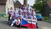 Fanoušci z Pecerad zamířili do Paříže na MS na utkání s Finskem.