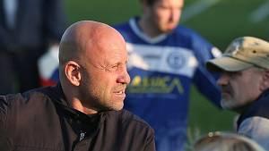 Fotbalový trenér Ivan Pihávek.