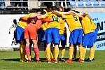 Ústí nad Orlicí - Benešov, hosté (ve žlutém) si odvezli dva body za výhru po penaltách.
