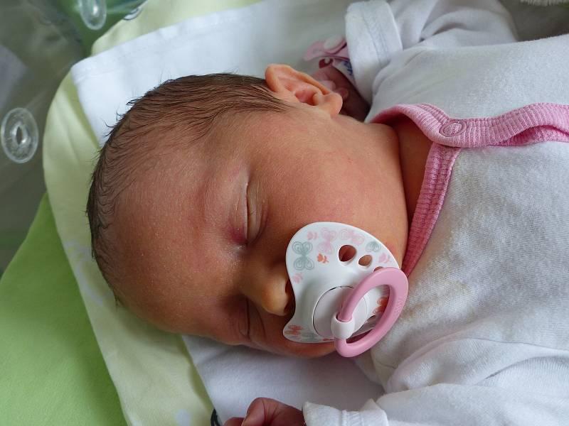 Denisa Tučková se narodila 16. července 2021 v kolínské porodnici, vážila 2700 g a měřila 47 cm. V Nebovidech ji přivítali bráškové Miloš (7), Filip (7) a rodiče Lucie a Jan.
