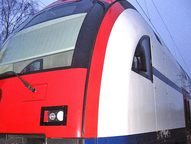 Maximální rychlost 150 až 160 km/h mohou využít pouze vlaky s výkonnou lokomotivou.