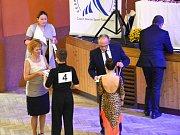 Český svaz tanečního sportu pořádal taneční soutěž ve standardních a latinskoamerických tancích.