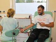 Akce daruj krev jako lev se v benešovské transfuzní stanici konala ve čtvrtek 7. září.