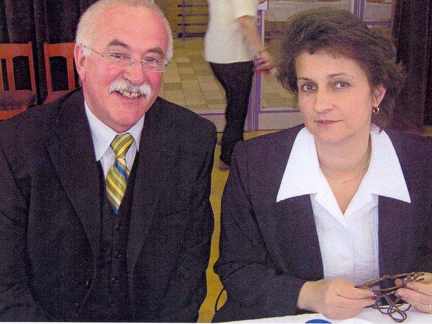 Jiří Kotouč a Michaela Šojdrová.
