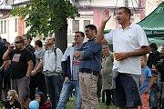 Pivovarské slavnosti se konaly v rámci oslav 120 let trvání benešovského pivovaru.