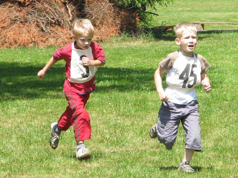 Zdislavický běh pro radost.