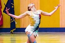 Kateřina Škrabánková na národním twirlingovém poháru vyhrála.