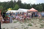 Na sedmém ročníku Chotýšanských slavností vystoupili Plastic people of the Universe nebo Petr Čejka s dcerou.