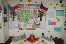 100 let české státnosti, výstava Domu dětí a mládeže Benešov