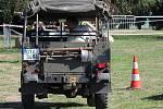 Sraz Land Roverů ve VTM Lešany se konal v sobotu 19. září už potřetí.