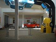 Retroautomuzeum ve Strnadicích vystavuje nepřeberné druhy automobilů.