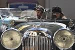 Veteránská rallye Retro Classic. Ilustrační foto.