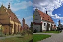 Kostel sv. Jiljí ve Vlašimi.